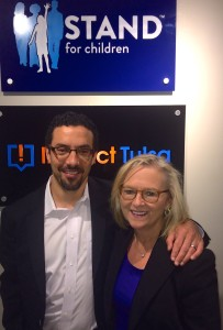 Jonah Edelman, CEO , Stand for Children and Kathy Taylor, CEO, ImpactTulsa